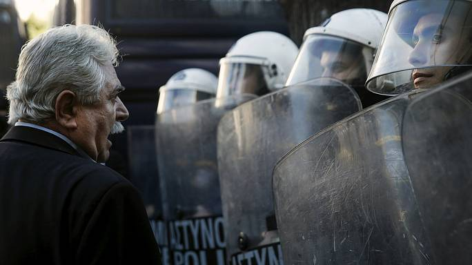 Yunanistan'da sosyal güvenli reformuna tepki