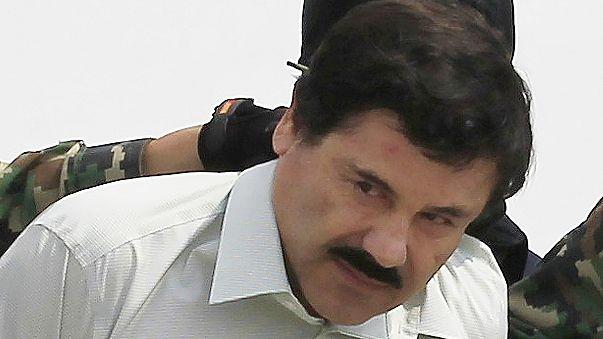 """Sechs Monate nach Gefängnisausbruch: Mexikanischer Drogenboss """"El Chapo"""" gefasst"""