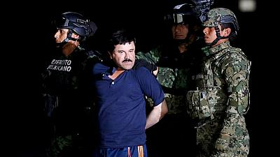 """Mexico recaptures drug kingpin """"El Chapo"""" Guzmán"""