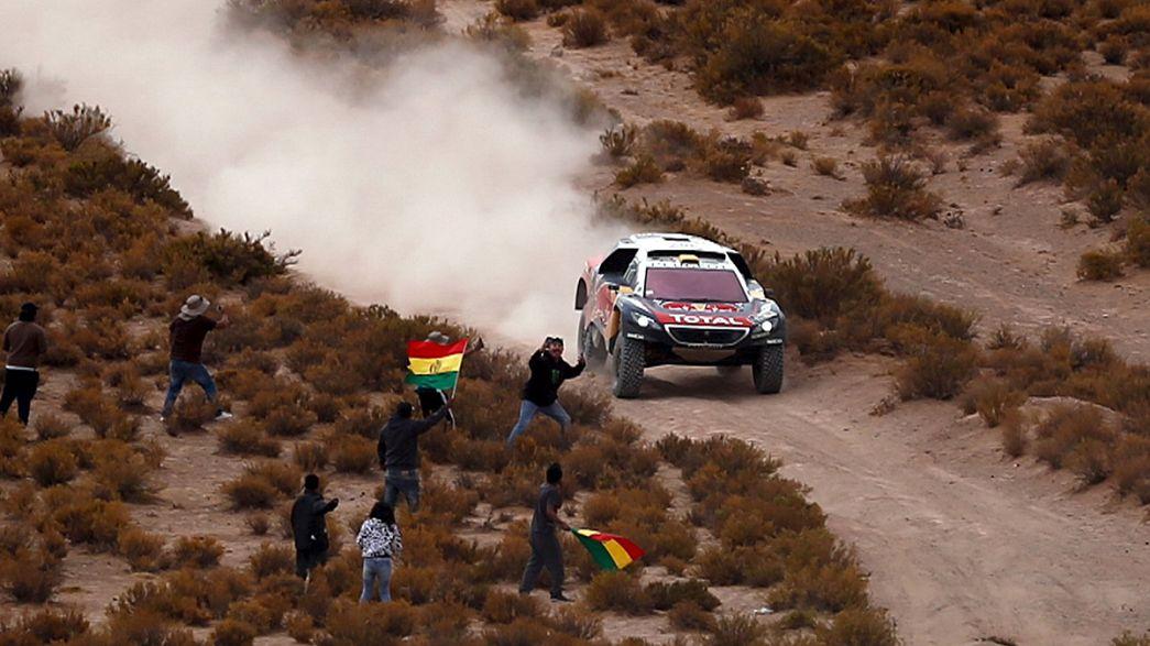 Peterhansel retoma el liderato del Dakar y Carlos Sainz se coloca tercero