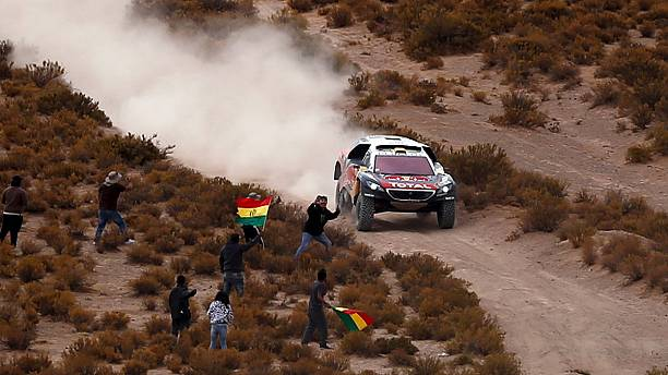 Dakar Rally: Peterhansel wins stage to go top of general standings
