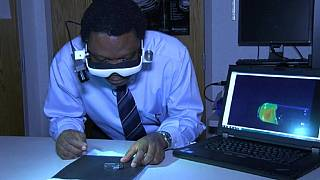 Nigerian invents special glasses to help surgeons 'see' cancer