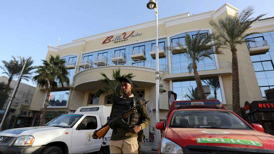 Tourists injured in attack on Red Sea resort hotel in Egypt