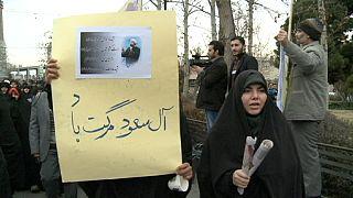 Jornada de manifestaciones antisaudíes en Irán tras la ejecución de un clérigo chií