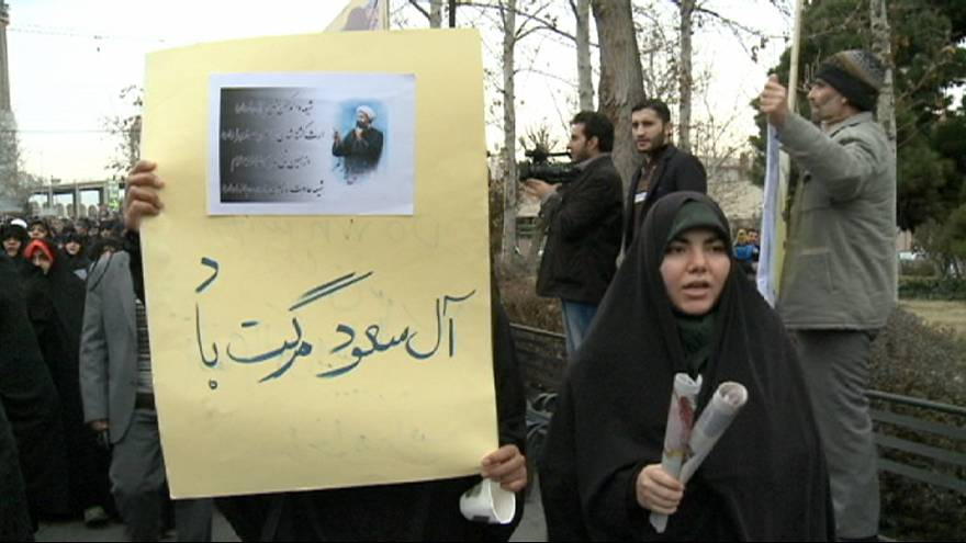 Novas manifestações no Irão contra a Arábia Saudita