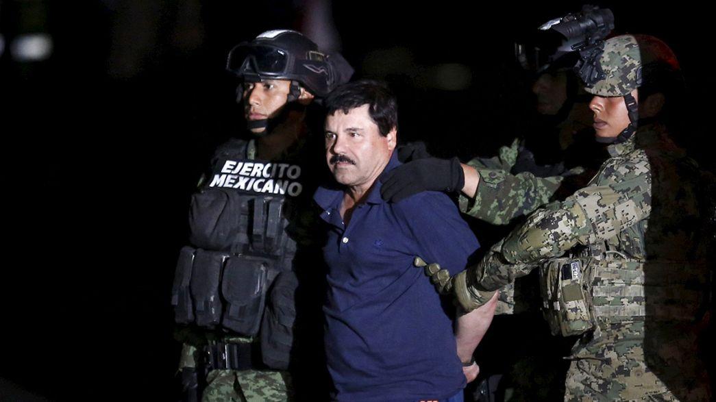 """EUA deverão pedir extradição de """"El Chapo"""""""