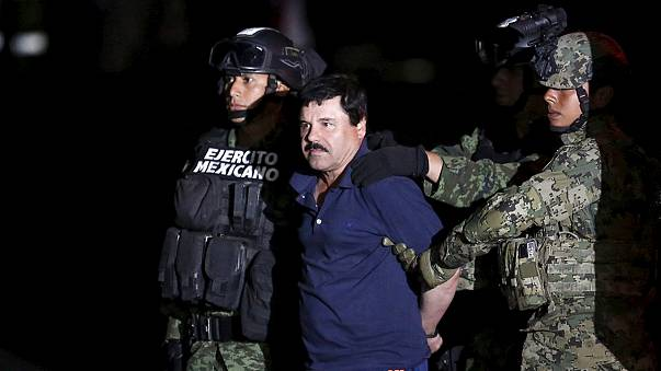 """المكسيك: القبض على الهارِب """"إْلْتشابُّو"""" أحد كبار بارونات المخدرات"""