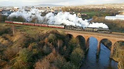 Retro-Zug: Der Flying Scotsman ist wieder im Einsatz