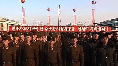 North Korea releases video of missile test