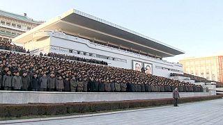Coreia do Norte celebra teste com bomba de hidrogénio