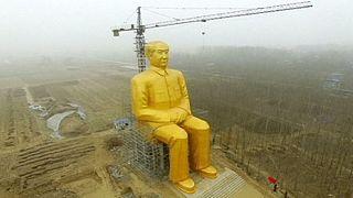 Китайские власти распорядились снести гигантскую статую Мао