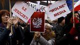 Польша: акции протеста против нового закона о СМИ