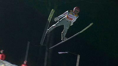 El equipo de saltos de Alemania se reencuentra con la victoria en el trampolín de Willingen