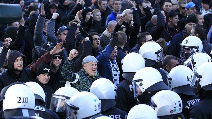 В Кёльне прошли демонстрации в связи с новогодними беспорядками