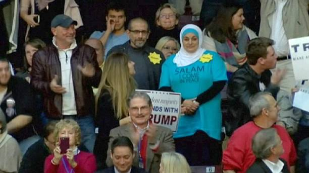Trump urged to apologise after Muslim ejected from campaign rally