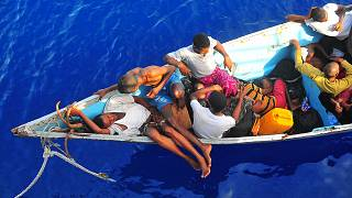 Dozens of Ethiopian and Somali migrants die at sea.