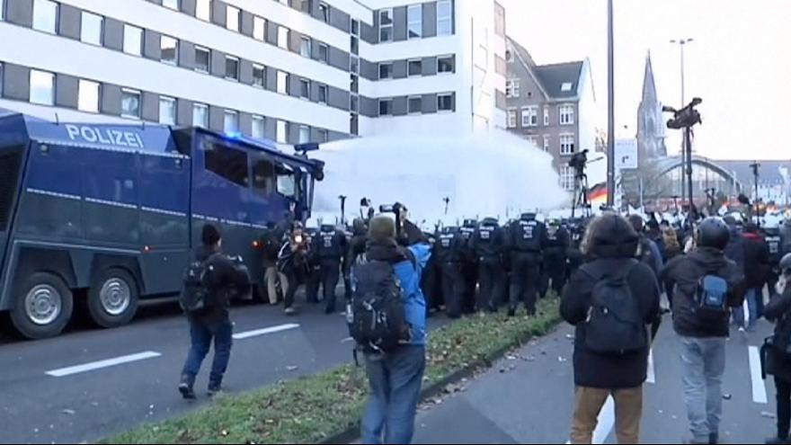 Clashes in Cologne