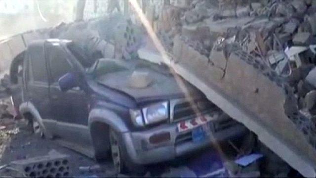 Yemen'de hastaneye roket saldırısı