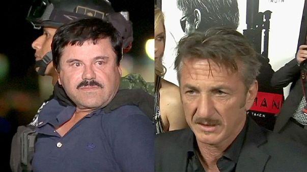 """México quer interrogar Sean Penn devido ao encontro com """"El Chapo"""""""