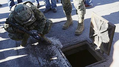 "Tunnels helped  ""El Chapo's""  escape"