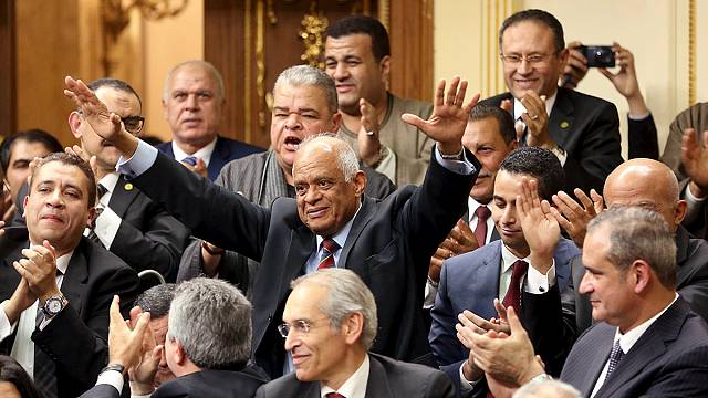 Egyptian parliament meets for the first time in three years