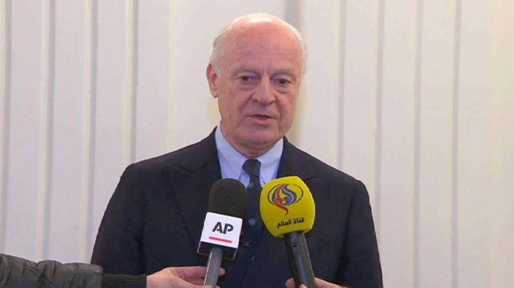 """ONU espera """"trégua"""" entre Riade e Teerão durante discussões sobre a Síria"""