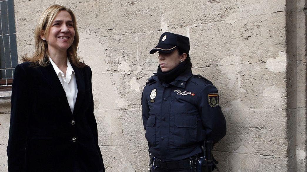 Cristina de Borbón en el banquillo de los acusados. Comienza el juicio del Caso Nóos