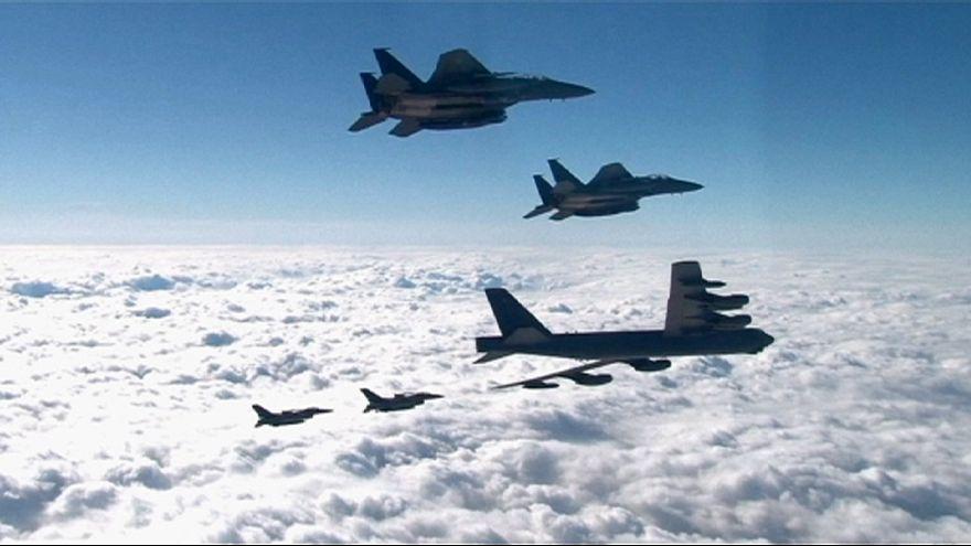 ABD Güney Kore'ye bombardıman uçağı konuşlandırdı