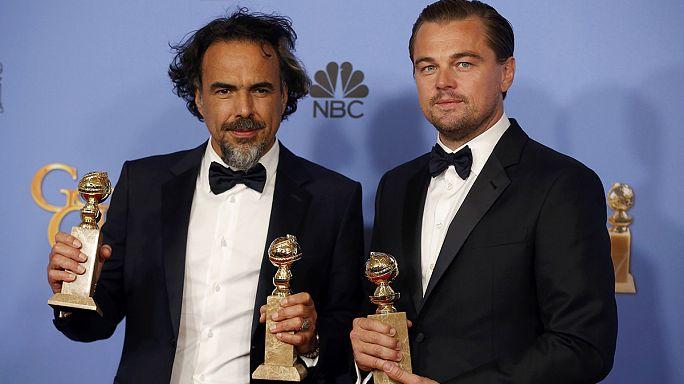 """Премию """"Золотой глобус"""" получили фильмы """"Выживший"""" и """"Марсианин"""""""