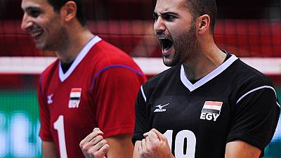 Men's Olympic Volleyball Qualifiers: Egypt, Algeria, Cameroon and Tunisia in semis