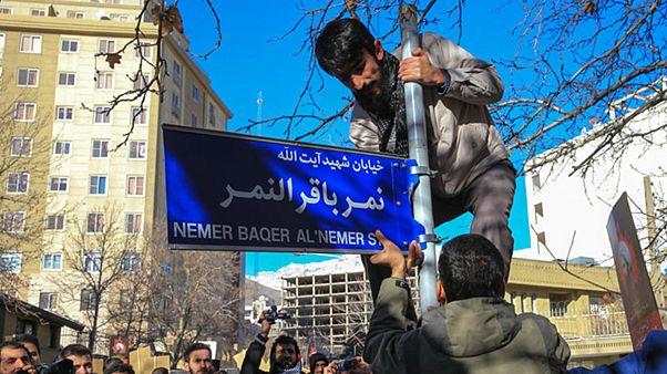 اعتراض وزارت خارجه ایران به نامگذاری یک خیابان به نمر باقر النمر