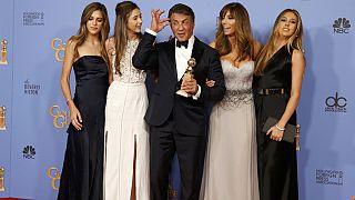 Momento dourado de Sylvester Stallone