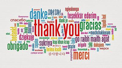Have you said Thank You today? It is International Thank You Day ...