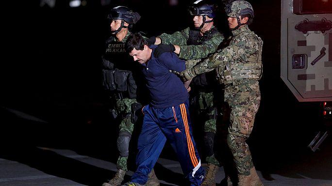 """المكسيك تبدأ اجراءات تسليم """"إل تشابو"""" للولايات المتحدة"""