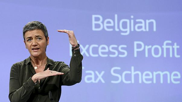 EU orders Belgium to claw back extra taxes from major firms