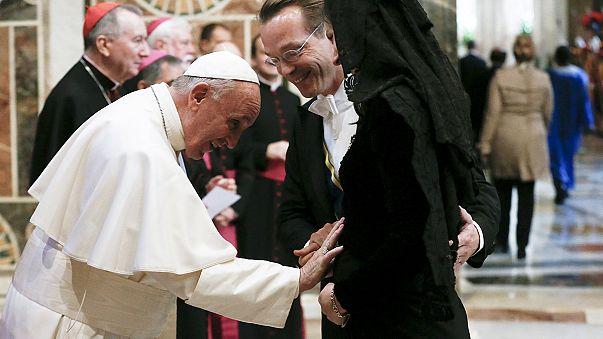 """Immigrazione, il Papa: """"vincere la paura"""""""
