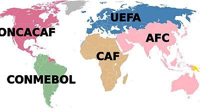 Les yeux doux des candidats à la présidence de la FIFA à l'UFOA