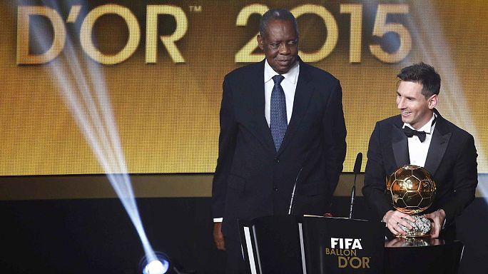 کرنر: لیونل مسی برنده توپ طلای سال ۲۰۱۵ شد