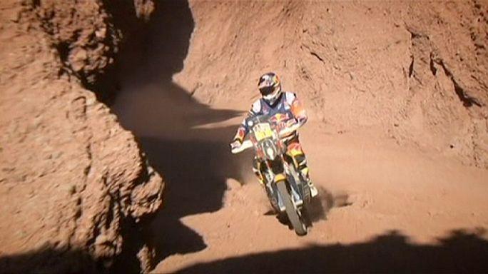 Dakar Rallisi'nin 8. etabındaki kazalar korkuttu