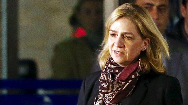 Spain: day 1 of Princess Cristina tax fraud trial draws to a close