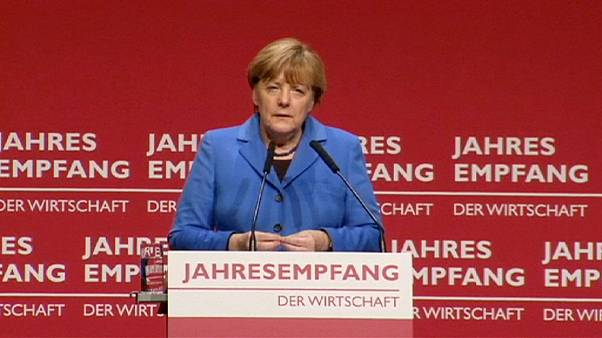 German Chancellor: Europe is ''vulnerable""