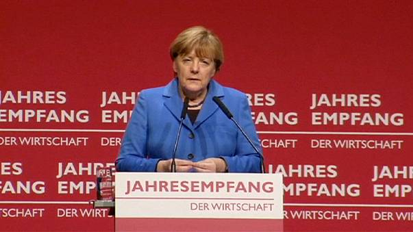 """German Chancellor: Europe is ''vulnerable"""""""