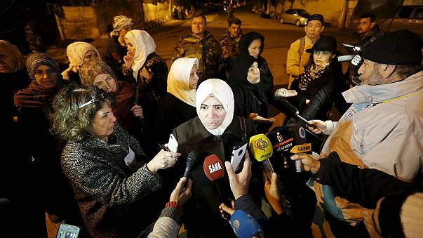 Comienza a llegar la ayuda a Madaya