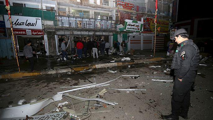 Bağdat'taki AVM saldırısını IŞİD üstlendi