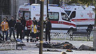 کشته شدن ۱۰ نفر بر اثر انفجار در استانبول