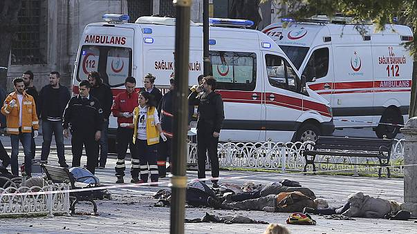 İstanbul'da patlama:10 ölü
