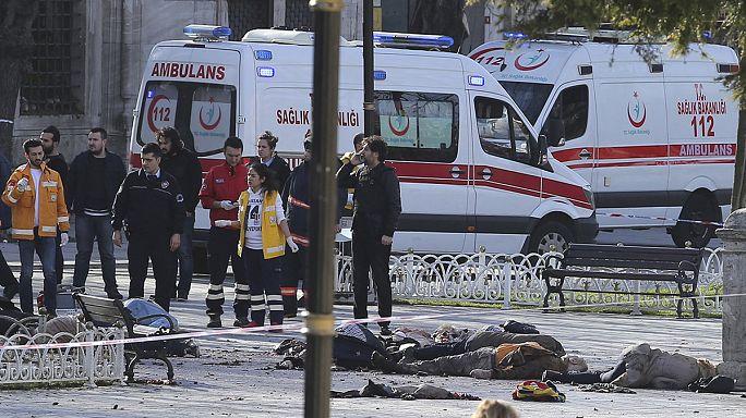 10 قتلى بينهم 9 ألمان جراء هجوم انتحاري نفذه سوري في اسطنبول