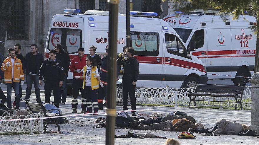 Взрыв в центре Стамбула