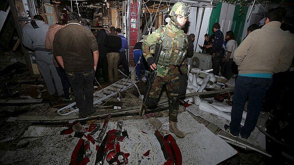 Baghdad: clearing up begins at Jawhara mall