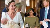 The duchesses both looked gorgeous at Prince Louis' christening.